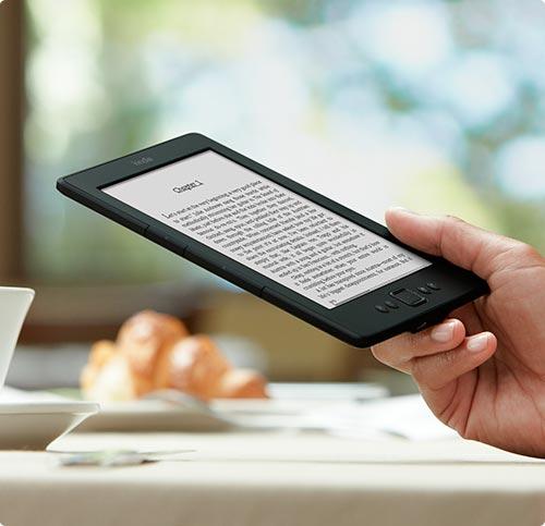 Kindle: Ηλεκτρονικός αναγνώστης