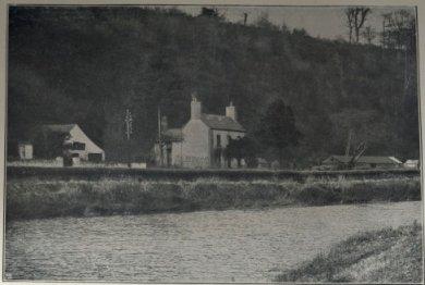 Το σπίτι του Γουάλας δίπλα από τον ποταμό USK (Πηγή: Wallace Online)