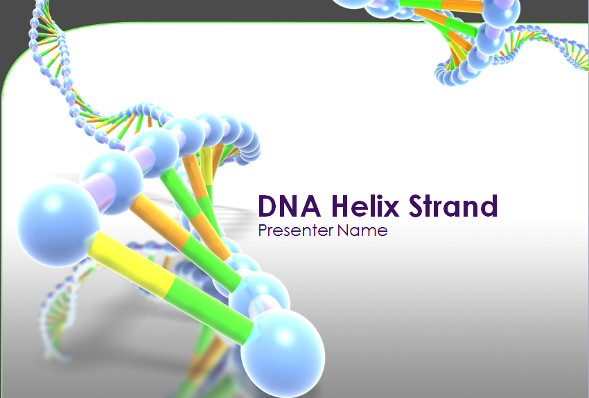 DNA Helix Strand