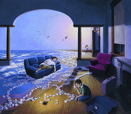 "Rob Gonsalves, ""Making Waves"""