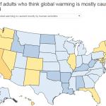 Διαδραστικός χάρτης για την κλιματική αλλαγή
