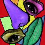 Picasso Anatomy: δημιουργία κολάζ ανατομίας